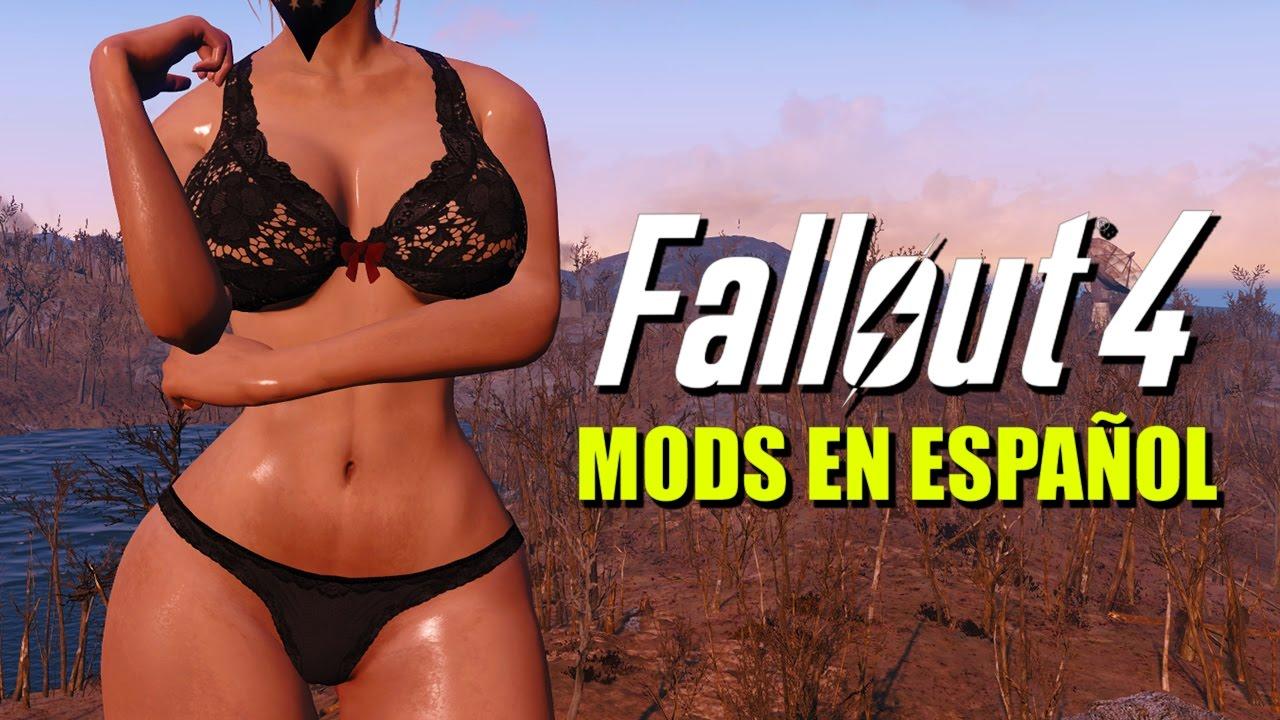 Fallout 4 Mods en Español #5 - Cuerpo personalizado, ropa interior ...