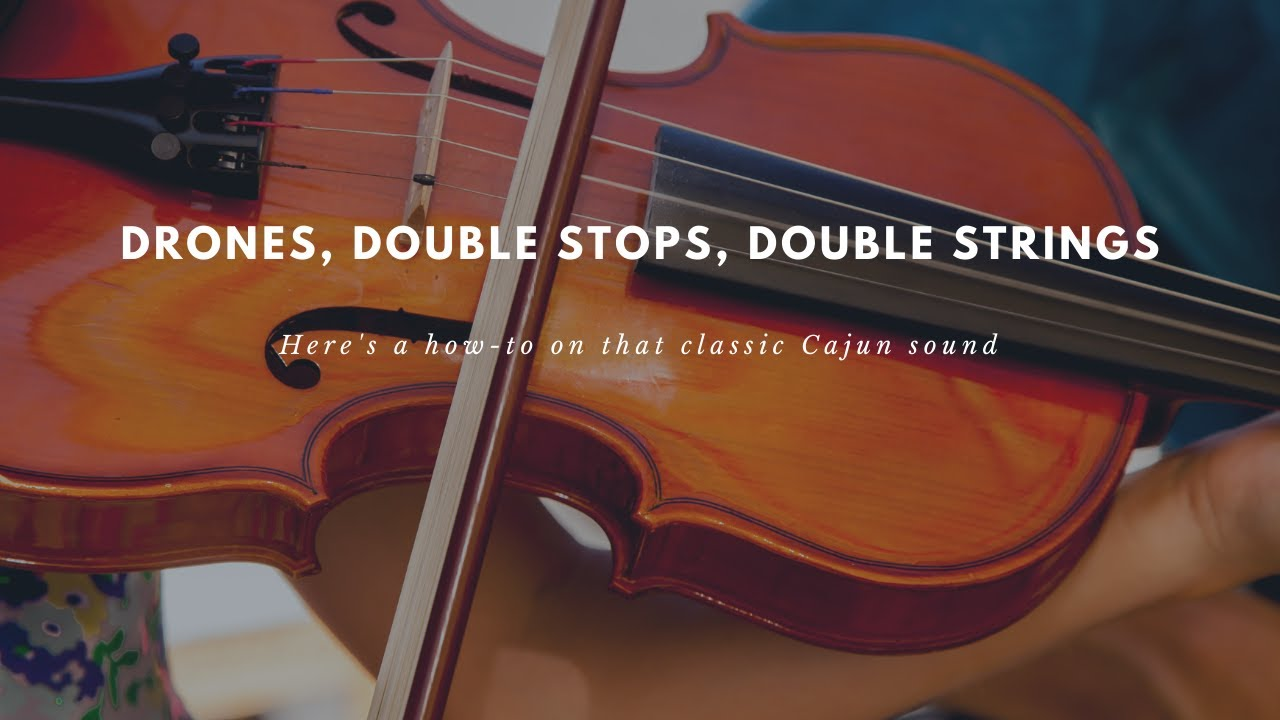 Drones, Double Stops, Double Strings | Mitch Reed Music Lessons