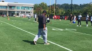Le'veon bell's 1st 2017 steelers practice