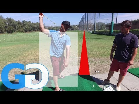 Golf Tips: golf lesson more right side bend