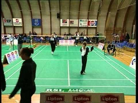 Dansk Ungdoms Grandprix i Badminton 1 2000 0326