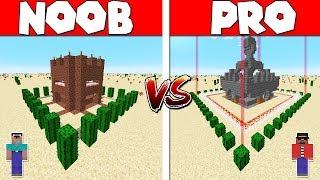 🔥Minecraft: NOOB vs PRO - ZOMBIE BASE DEFENSE Challenge in Minecraft (Animation)