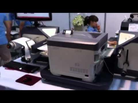A4 size color laser label printer -OLD VERSION