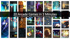 20 Arcade Games in 3 Minutes [2011 - 2015 // PC + Consoles]