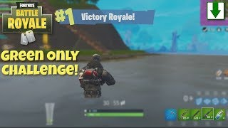 Green Items Only Win for St. Patrick's Day! Fortnite Battle Royale