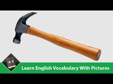 Learn English - English Vocabulary - Work/ Tools & Building Supplies - Part 1/5