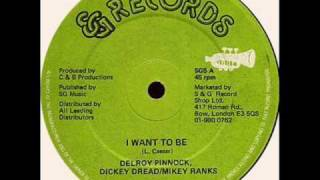 Delroy Pinnock I want to Be - Dickey Dread & Mikey Ranks - DJ TEDDY-TED