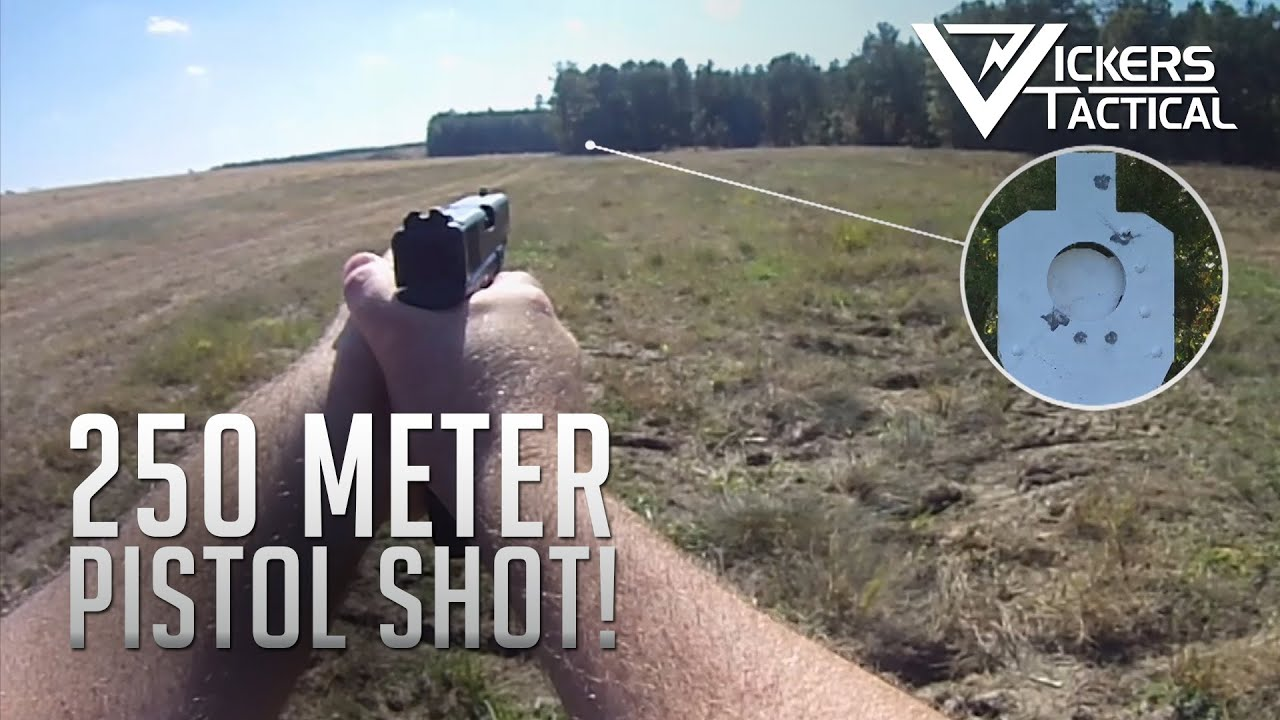 How Far Is A Meter : Meter shot with a pistol youtube