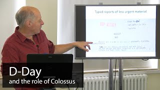 Seventy-five years on from d-day, information is still coming to light show the role of colossus and breaking lorenz, hitler's most secret cipher.i...