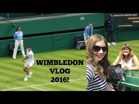 Djokovic, Ward, Federer, Gasquet and more! / Wimbledon Vlog!