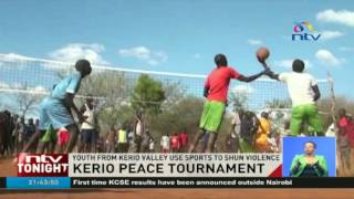 Youth from Kerio Valley use sports to shun violence