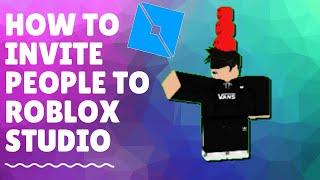 How to Invite People on Roblox Studio