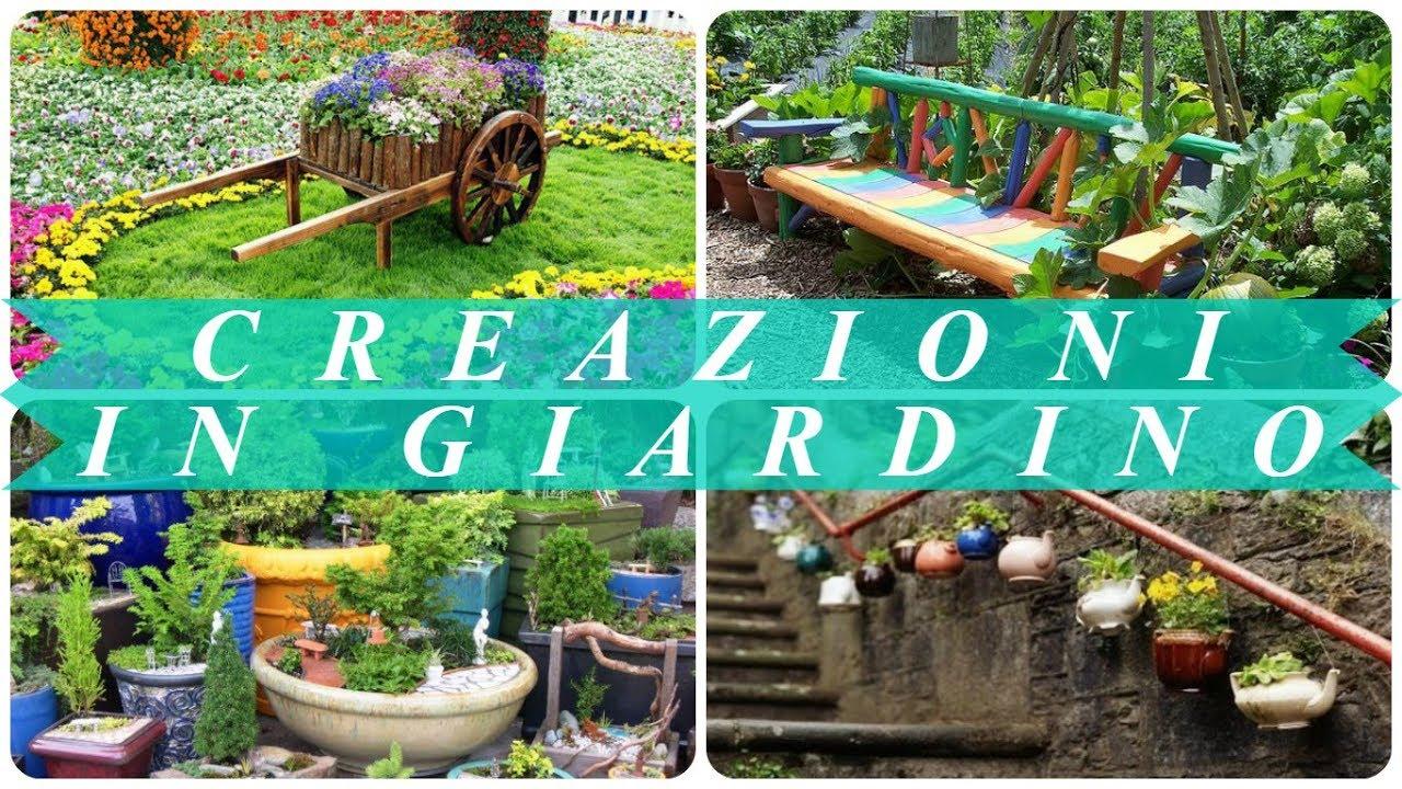 Idee giardino fai da te youtube for Idee fai da te