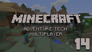 Zagrajmy na Adventure Tech Multiplayer   14 PoczД…tki z quarry. M NECRAFT