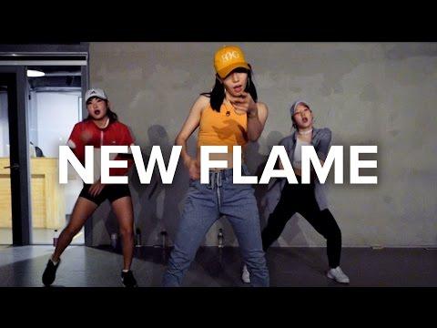 New Flame  Chris Brown ft Usher, Rick Ross  Jiyoung Youn Choreography