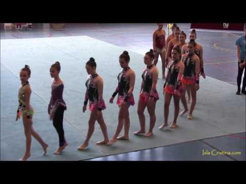 """Video. II Torneo de Gimnasia Rítmica """"La Higuerita"""" Celebrado en Isla Cristina"""