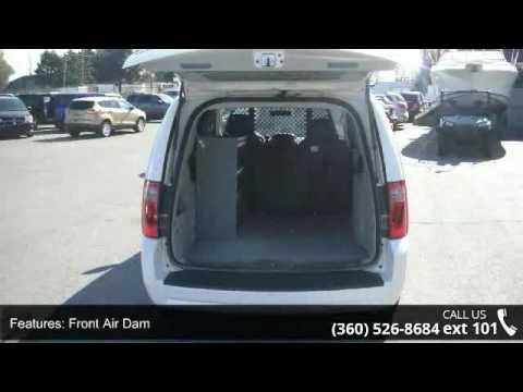 2010 Dodge Grand Caravan Cargo Van W Shelving And Ladder Youtube