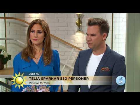 """Telia sparkar 850 anställda: """"Det är en panikåtgärd""""  - Nyhetsmorgon (TV4)"""