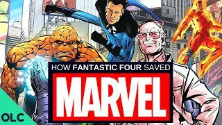 How the FANTASTIC FOUR Saved Marvel Comics (Part 2)
