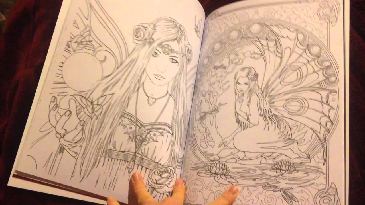 enchanted magical forests coloring collection fantasy art coloring by selina volume 3