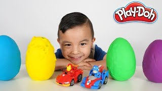 Avengers Play Doh Surprise Eggs Learning Fun CKN Toys