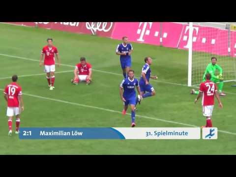 FC Bayern München II  -  FV Illertissen (Regionalliga Bayern 16/17, 1. Spieltag)