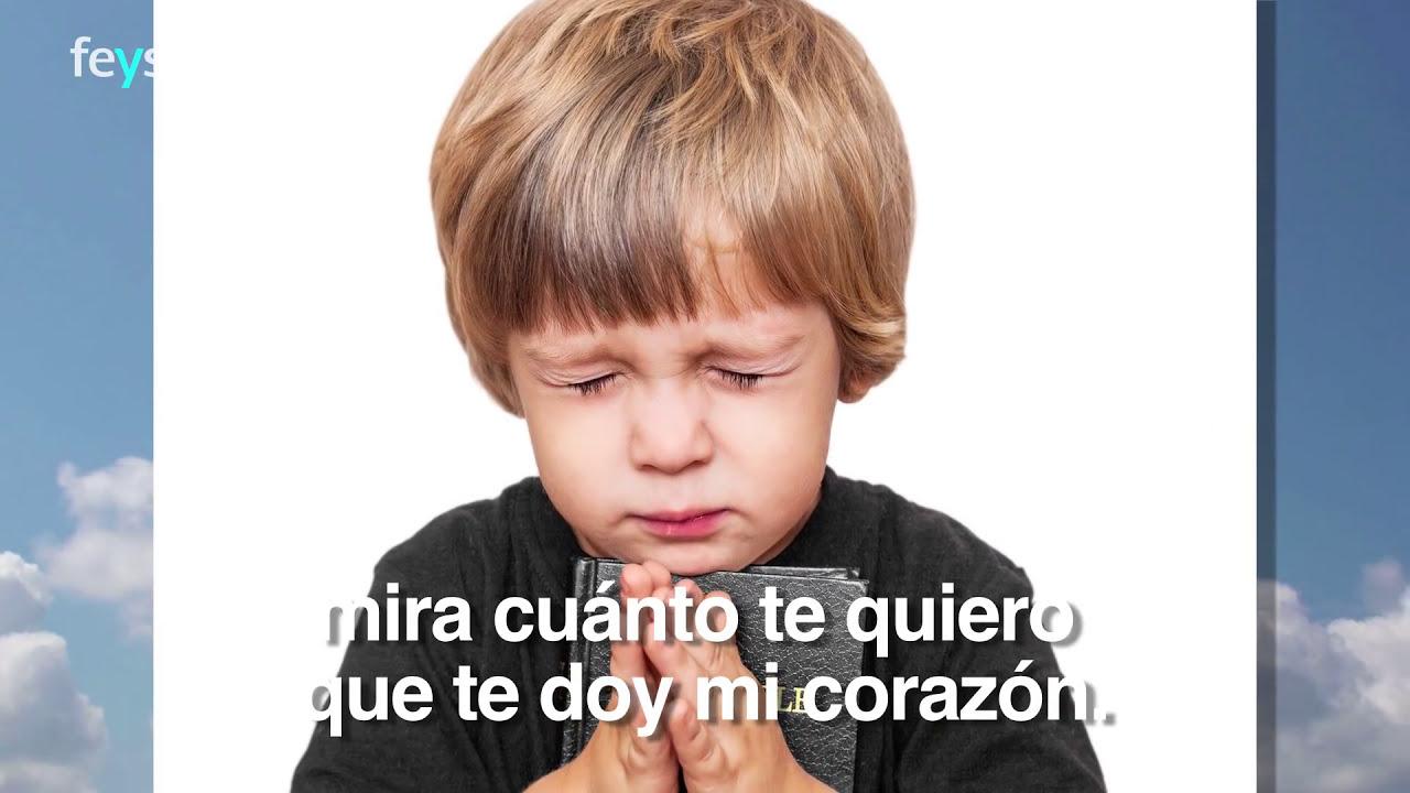 ángel De La Guarda Oración Para Niños Fe Y Salvación Youtube
