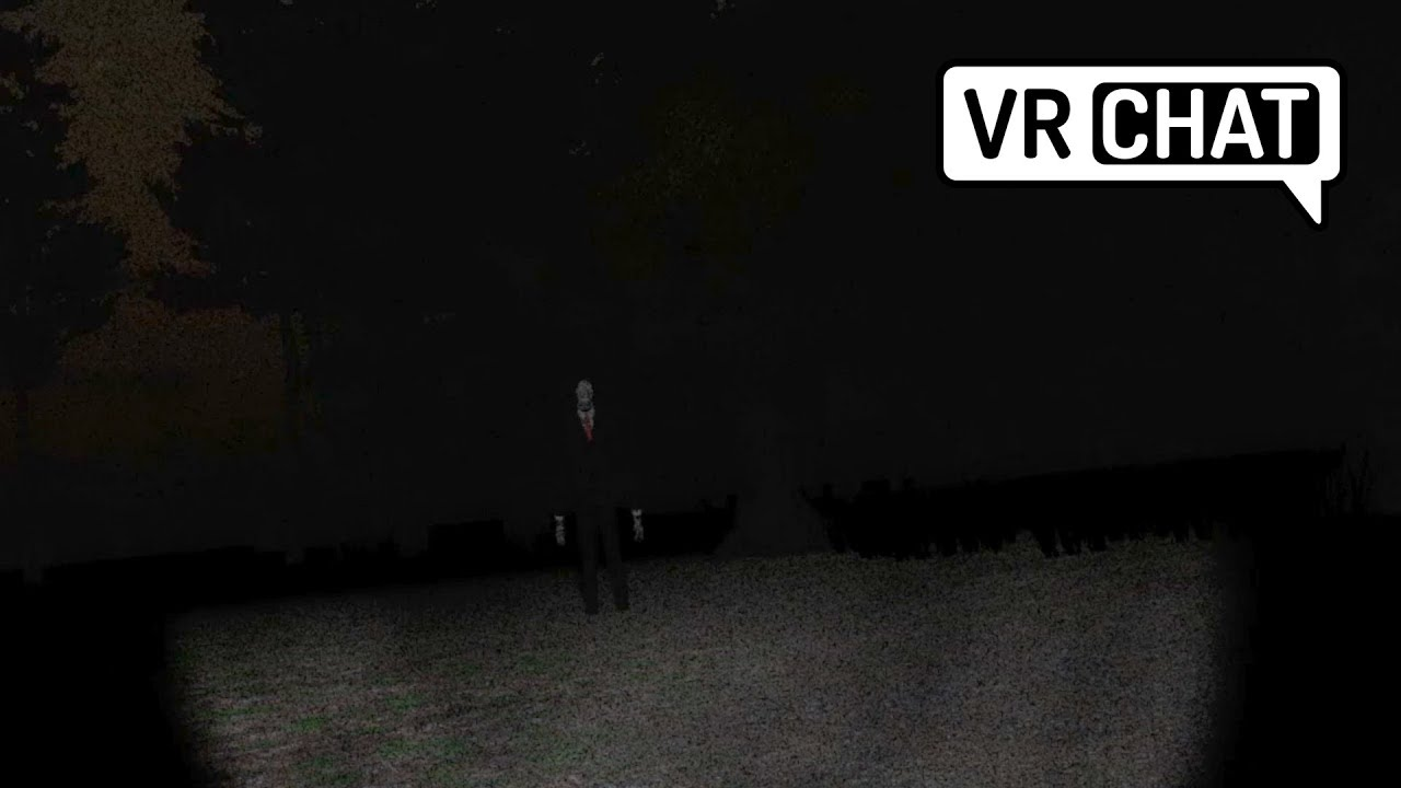 [VRChat] Getting chased by Slender Man! (Horror map) - YouTube