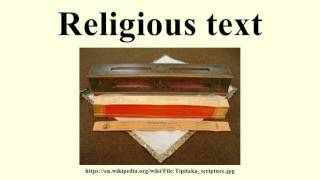 Religious text