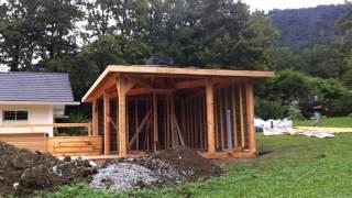 Abri spa - Abri sauna - abri de jardin - gazebo - espace bien-être