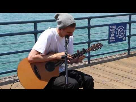 Beats N Strings on Santa Monica Pier CA