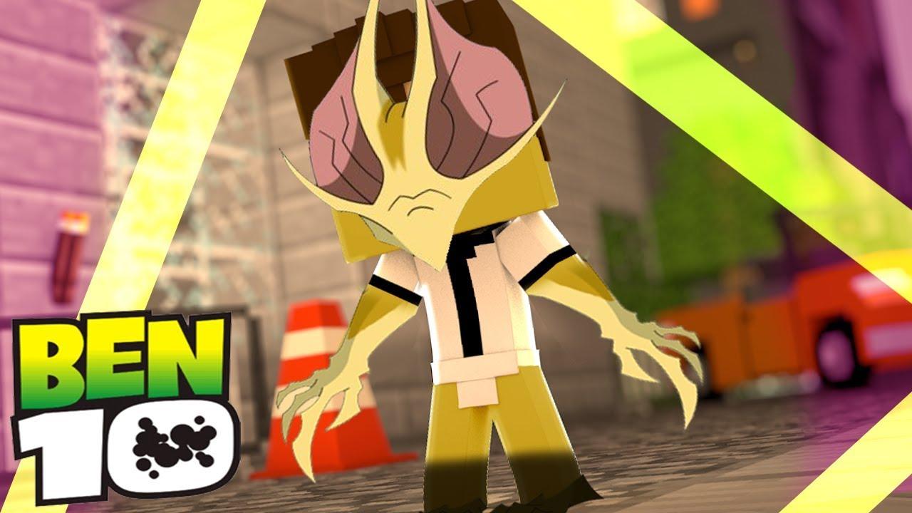 Minecraft Who S Your Family O Bebe Ben 10 Se Transformou No