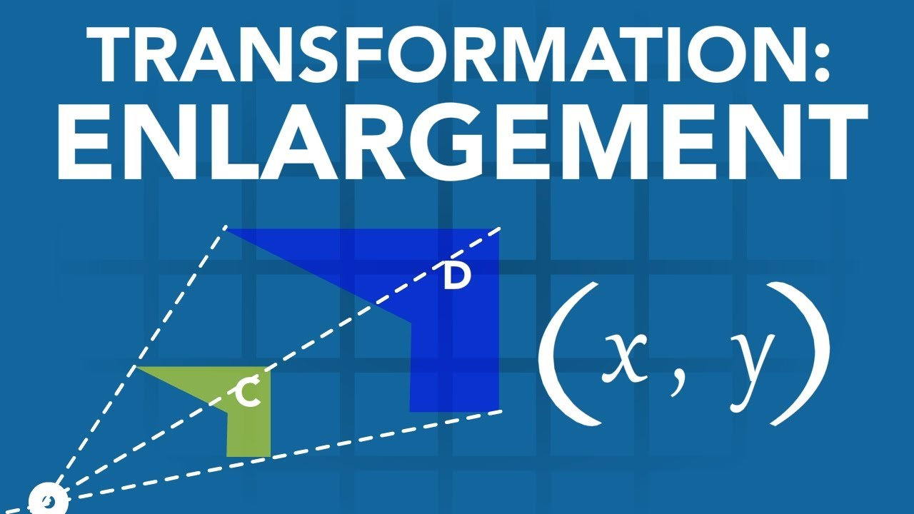 Maths Made Easy! Transformations #4: Enlargement [O&U Learn] - YouTube
