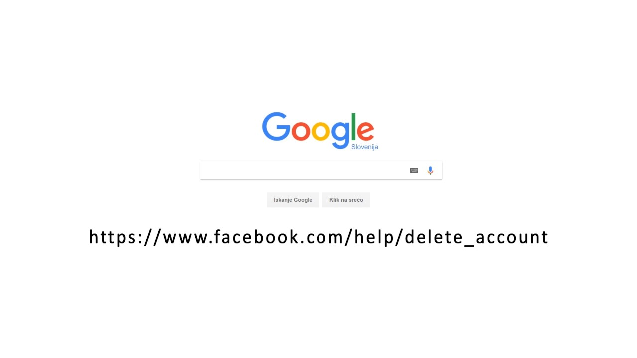 How To Delete Facebook Account 2017 [fast]