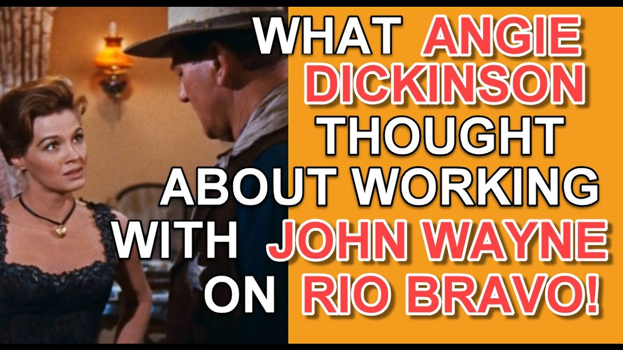 Download What Angie Dickinson thought about working with John Wayne on the set of Rio Bravo!