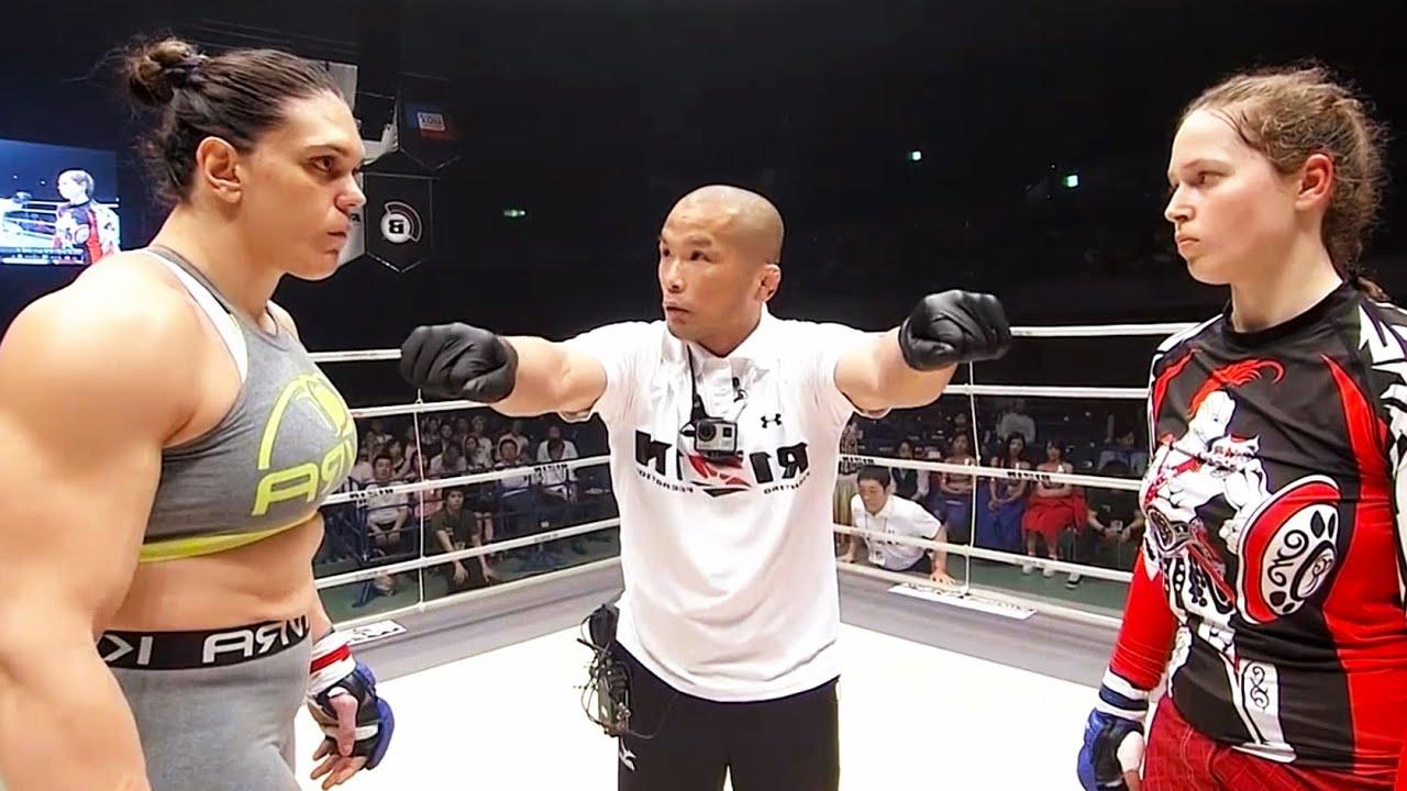 Download Gabi Garcia (Brazil) vs Anna Malyukova (Russia) | MMA fight HD
