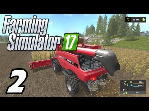 Farming Simulator 2017 - Contract Work! - E02 (PC Gameplay 1080p60)