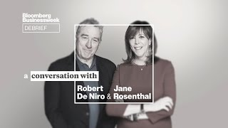 Robert De Niro & Jane Rosenthal on Tribeca, New Projects, and Trump