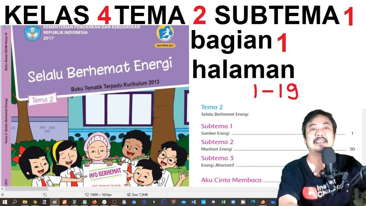 Selalu berhemat energi kelas 4 sd/mi buku tematik terpadu kurikulum 2013 edisi revisi 2017. Tema 2 Kelas 4 Subtema 1 Halaman 1 19 Selalu Berhemat Energi Bse Bag 1 Revisi 2018 Youtube