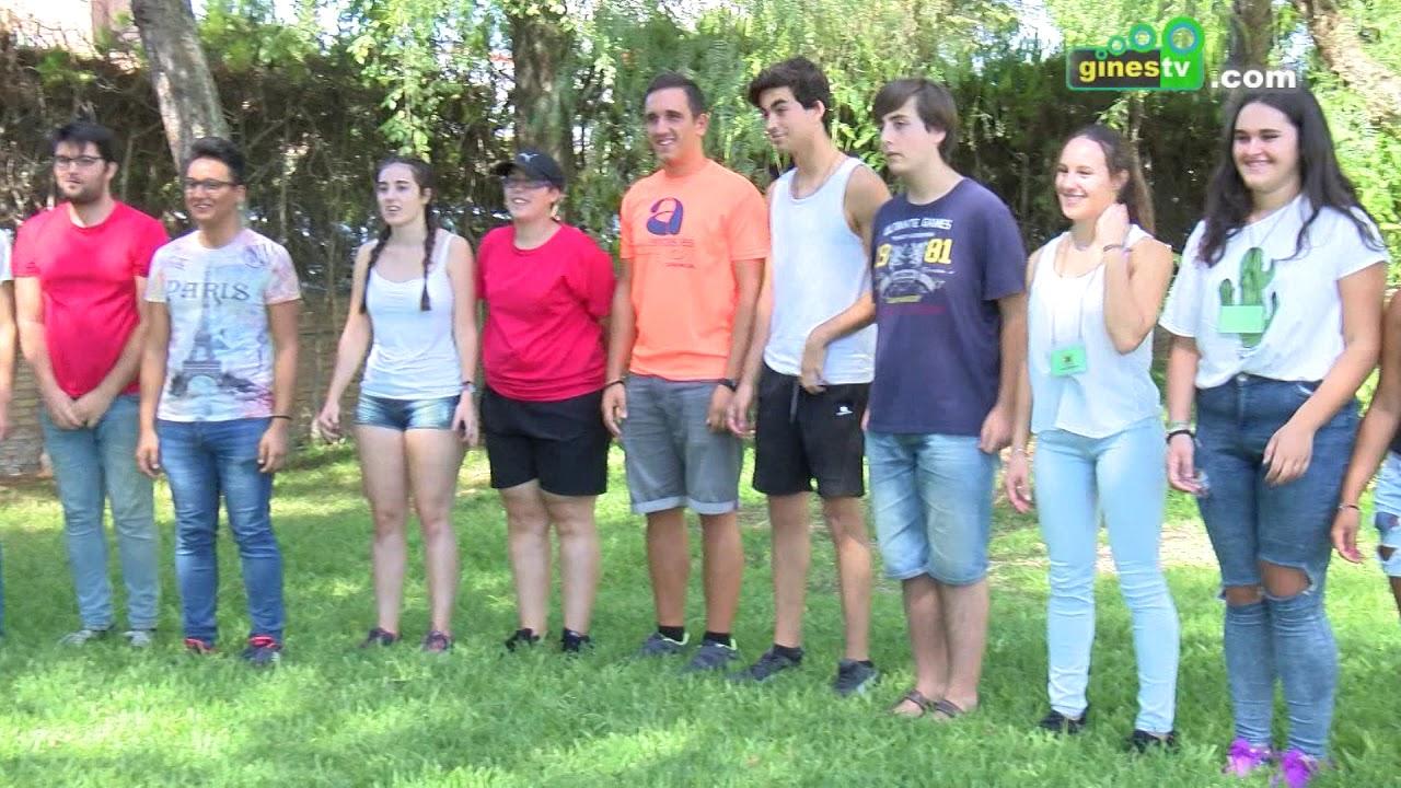 El Polideportivo Municipal acogió el II Encuentro de Voluntariado Joven de Gines