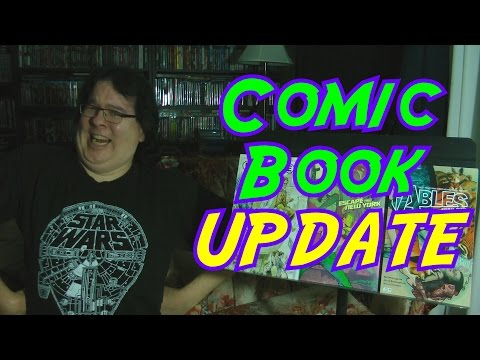 Comic Book Update -  October 1-15,  2016 Acquisitions