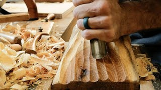 Carving Bookends From A Tree Limb