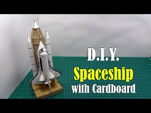 How to build a space shuttle out of cardboard