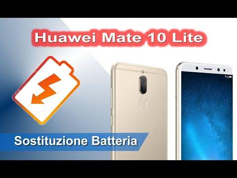 Huawei Mate 10 Lite Sostituzione batteria - Battery Replacement
