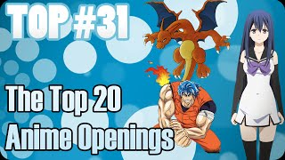 THE TOP 20 ANIME OPENINGS | 5 DE DICIEMBRE 2014 | TOP # 31