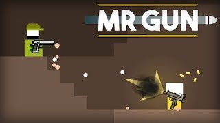 Mr Gun - Ketchapp Level 1-7 Walkthrough