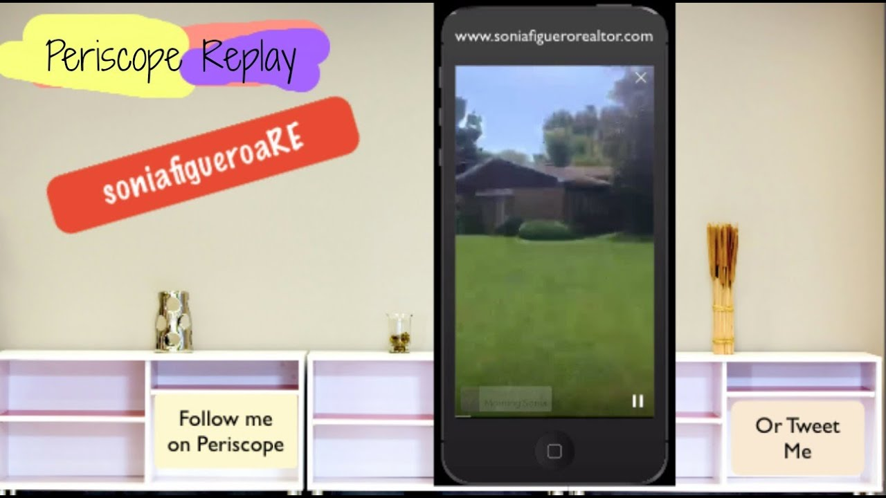 Periscope Replay: Showing a House with a Coconut Tree inside - Estate Sale Chicago