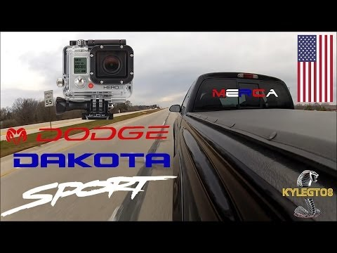 1998 Dodge Dakota Sport 5.2L Straight Pipes GoPro