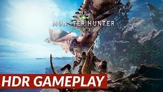 Monster Hunter: World - HDR Gameplay [PS4 Pro]