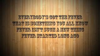 Fever - A Fine Frenzy - Lyrics